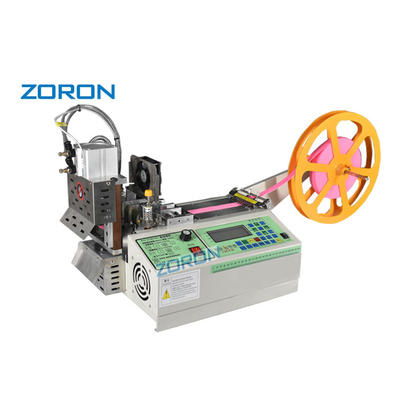 knives rotary knife ribbon nylon tape cutting machine for angles